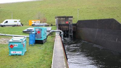 Remplacement de la conduite forcée du barrage / Fév. 2018