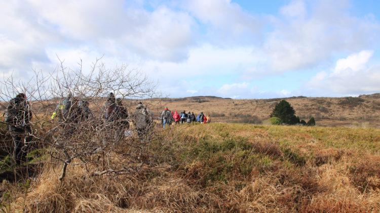 30 randonneurs au sommet des Zones Humides / Fev. 2018
