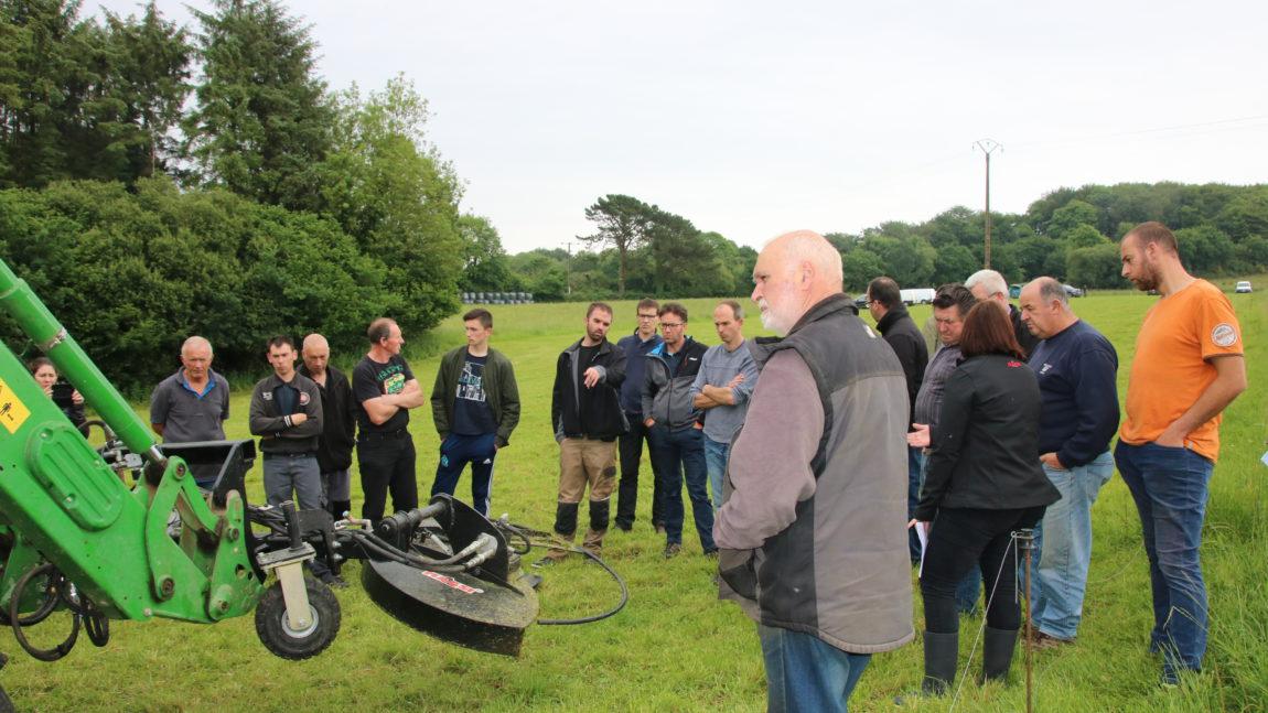 L'entretien des bords de champs / Juin 2018