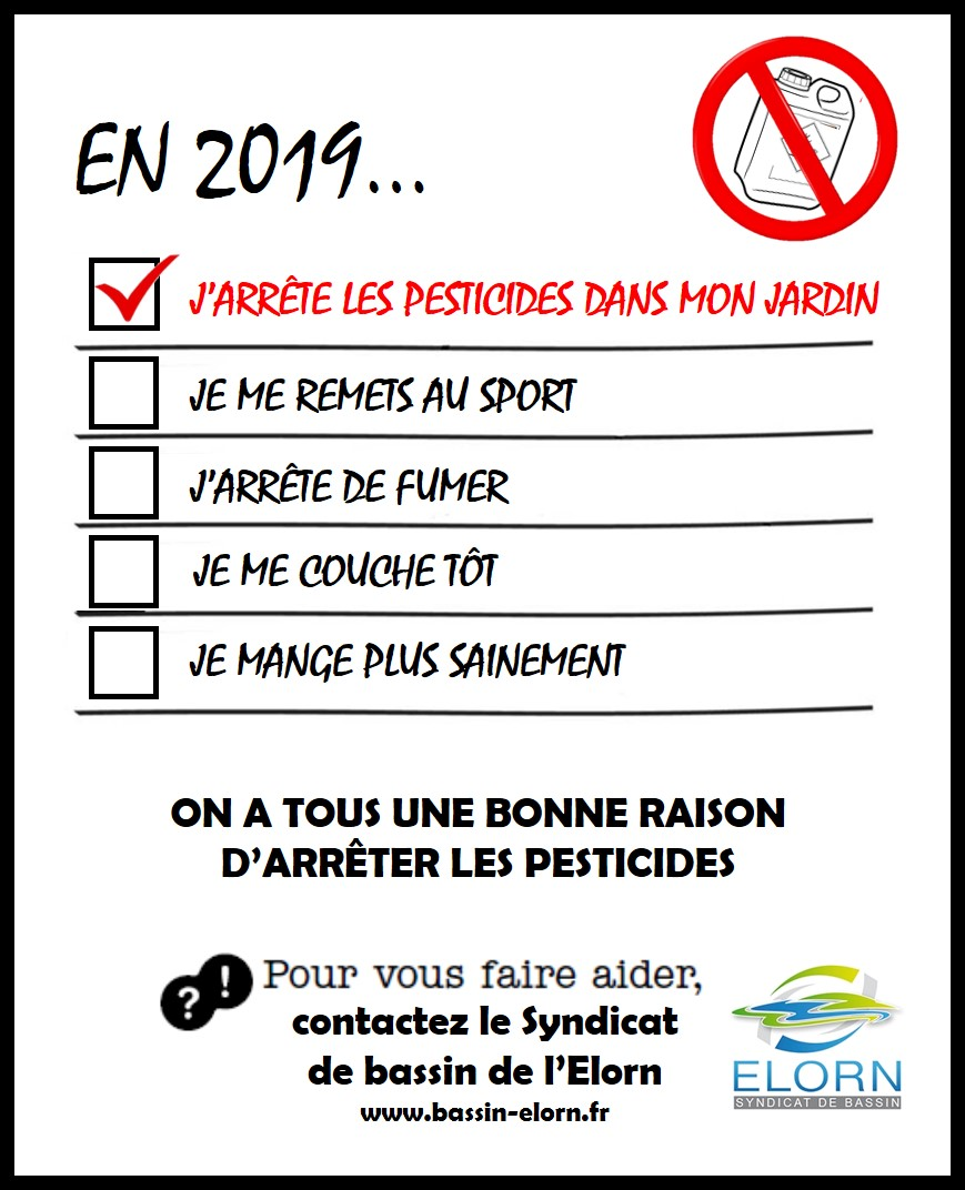 Fin des pesticides pour les particuliers / Janv. 2019