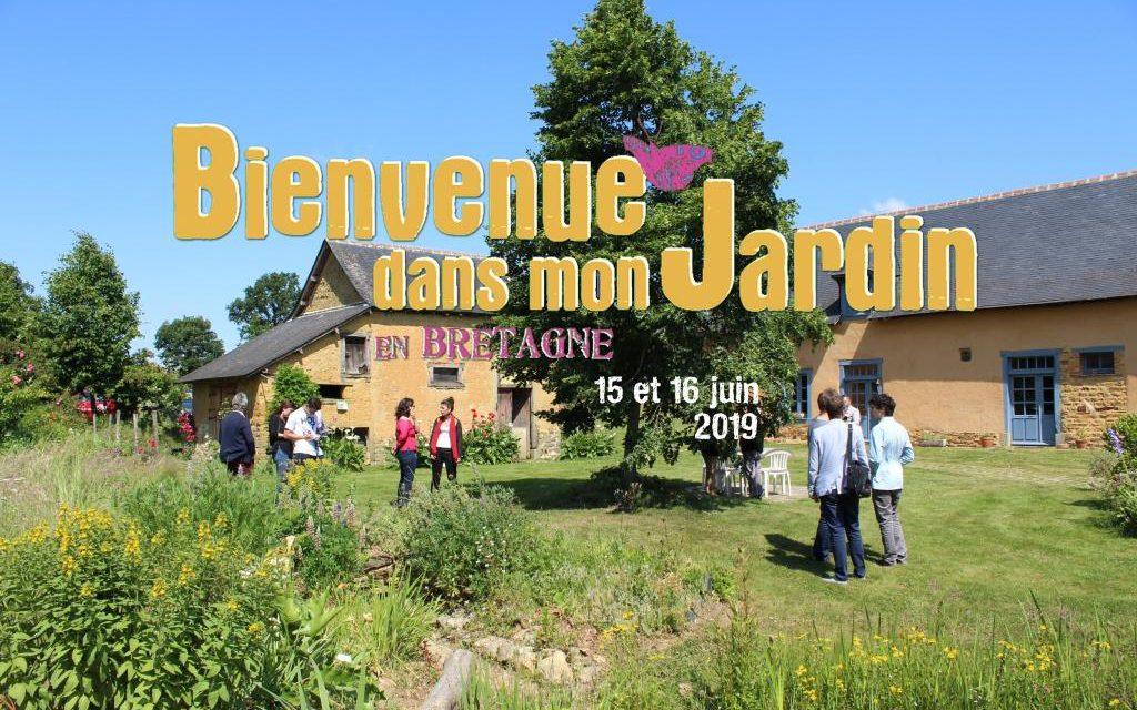 Bienvenue dans mon Jardin les 15 et 16 juin / fév. 2019