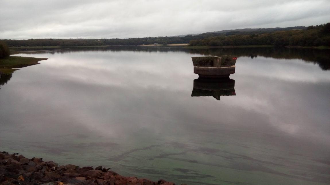 Barrage du Drennec – un soutien d'étiage sans problème / oct 2019