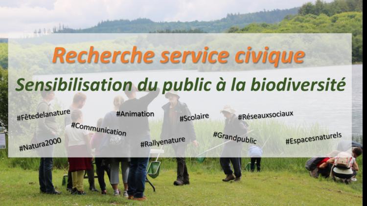 Recherche : Service civique ! / Janv. 2020