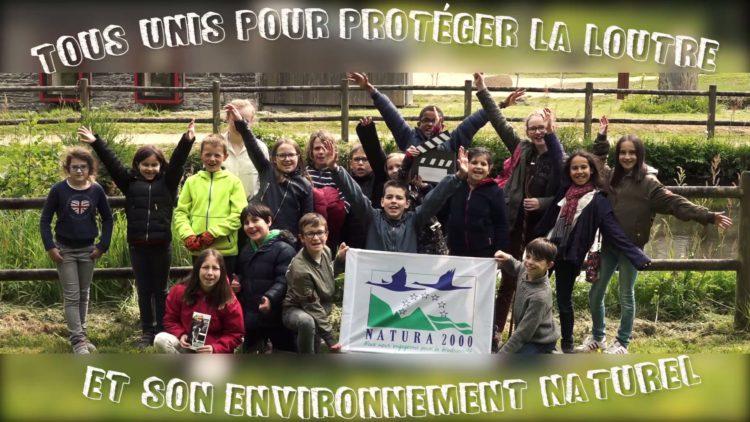 """Vidéo scolaire """"Loutre d'Europe"""" – Site Natura 2000 """"Rivière Elorn"""" / Juillet 2018"""